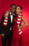 Merry Christmas from Everybody Hates Chris and Rosario Dawson.