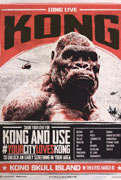 Kong's mad again!