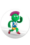 Commonwealth Games mascot Clyde is based on thistle. Really.