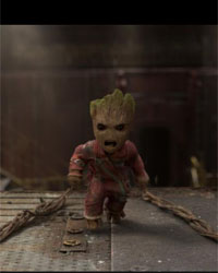 Do not anger Baby Groot. Or teenage Groot..