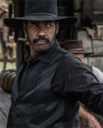 Only Denzel could pull off those sideburns..