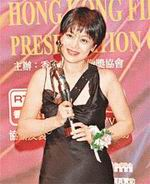 Sylvia Chang and her Best Actress award