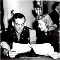 Irene Manning meets Glenn Miller