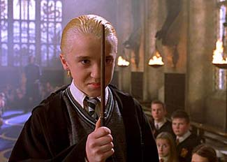 Draco Malfoy puts a curse on the weekend's new box office entries.