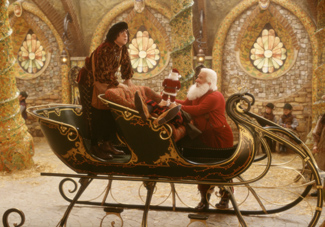 You know what this sleigh needs?  More power!