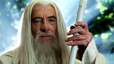 An arthritic condition prevents Gandalf from properly gripping his staff.
