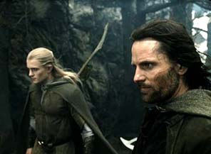 The one on the right is Viggo. The one on left seems familiar but I've forgotten who he (?) is.