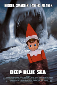 Look out, elf. Or don't.