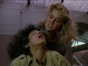 The only thing better than a catfight is a catfight complete with 80s hair!