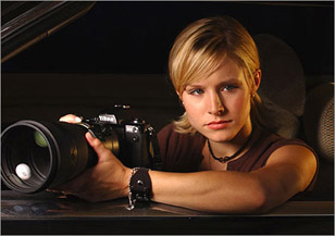 Going from Veronica Mars to When in Rome is like being traded from the Lakers to the Knicks.