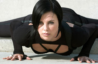 Two hours of her doing yoga like this would have made for a better film.