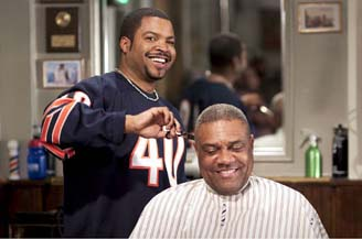 The guys smile because the Bears are currently undefeated.