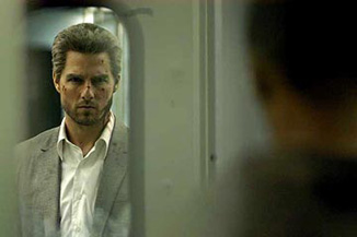 This is what we call Tom Cruise's serious actor face.