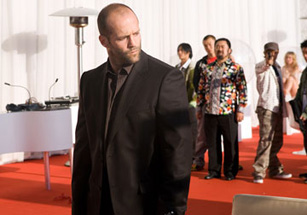 That right there is the patented Statham stare.