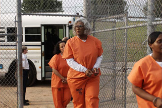 At last, Madea has been arrested for her crimes against cinema.