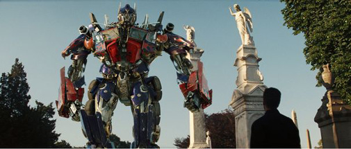 We always hated it when Optimus Prime broke out his vacation photos.