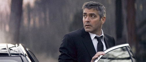 Clooney goes on the run from the nurses who he got suspended.