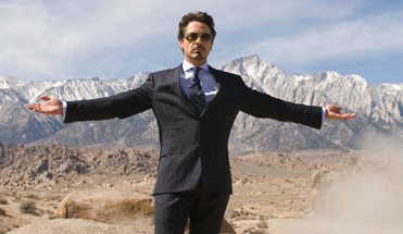 Robert Downey Jr. is king of the world.