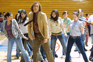 Steve Coogan knows how to boogie.