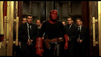 Looks like Hellboy has started hanging with Wolfram and Hart.