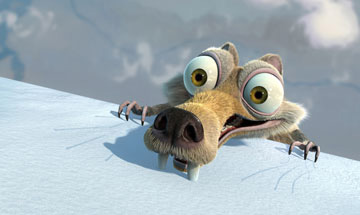 Even Scrat is surprised by his ability to carry a film to $70 million.