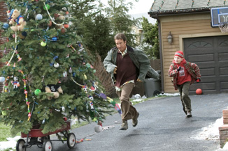 Tim Allen and the kid from Malcolm in the Middle chase after the true meaning of Christmas.