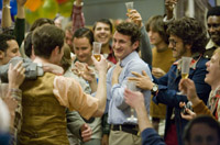 Penn and his friends celebrate his second divorce.