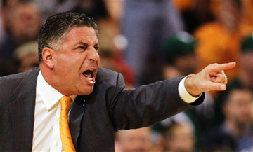 It's our web site and we'll put the losing team in the picture if we want. Bruce Pearl is our hero