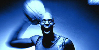 Kevin Garnett is so successful he will eat your face off.