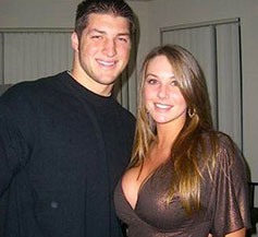 She's why Tim Tebow seems so happy all the time.
