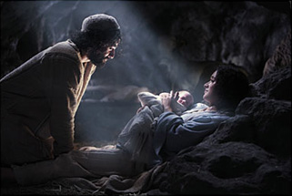 And this shall be a sign unto you; you shall find the babe wrapped in swaddling clothes and lying in
