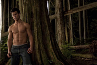 Taylor Lautner. And some trees.