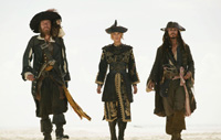 Pirate fashion makes a comeback on the catwalk.