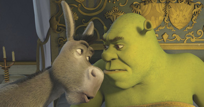 Finally, Shrek and Donkey express the love that dare not speak its name.