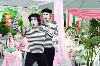 Even mimes don't like other mimes.