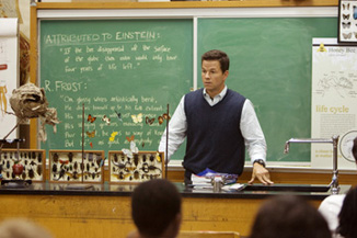 Marky Mark as a public educator does explain our country's test scores.