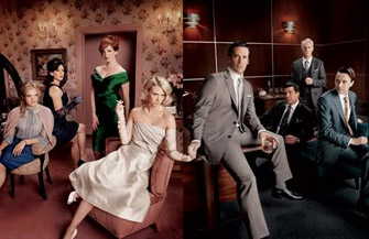Half the Mad Men are hot women. Interesting.