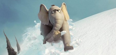 Horton suddenly realizes that he's not supposed to be in the Ice Age sequel.