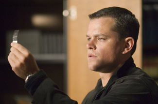 Matt Damon discovers the glory of scotch tape.