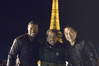 Aw, Brett Ratner, Jackie Chan and Chris Tucker are putting their tourist photos on Flickr!
