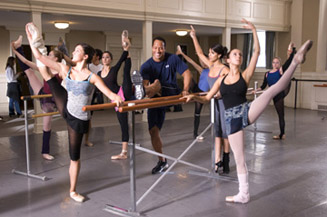 The Rock hopes to introduce HGH into the world of ballet.