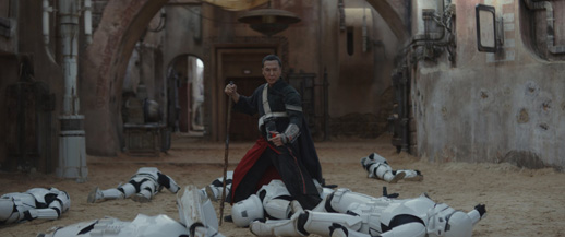 If nothing else makes you want to see Rogue One, Donnie Yen should!