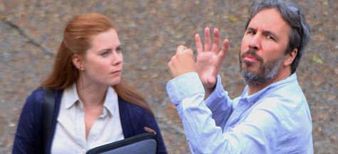 The ghost of John Ritter counsels Amy Adams.