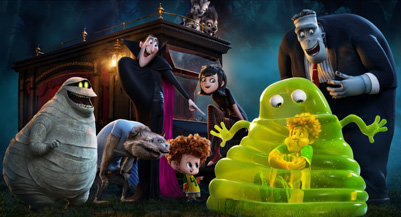 You never know what's going to happen at that crazy Hotel Transylvania!