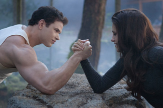 Of *course* there is an arm-wrestling match in this movie. Why wouldn't there be?