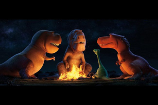 What stories do dinosaurs tell around the campfire, anyway?