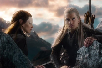 Farewell, Legolas and female elf who was never in the books.