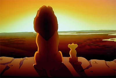 You must avenge my death Kimba, I mean, Simba..