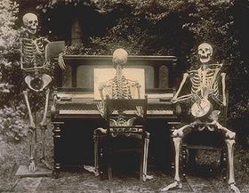 Look, this weekend's movies suck. So instead, a skeleton band.