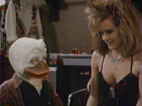 Are you cosplaying Rock of Ages? I'm a DUCK and I'm less ridiculous than your hair.